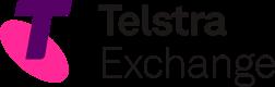 Telstra Exchange logo & home button